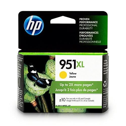 HP CN048AN#140 951Xl High Yield Original Ink Cartridge Yellow