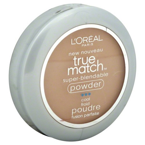 L'Oreal True Match Super-Blendable Powder, Cool, Classic Beige C5, 0.33 oz (9.5 g)