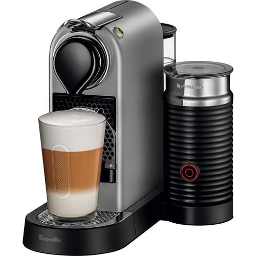 Nespresso - CitiZ & Milk Espresso Maker/Coffeemaker - Silver