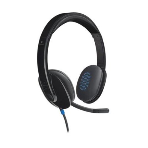 Logitech USB Headset H540 - Stereo - Black - USB - Wired - Over-the-head - Binaural - Semi-open