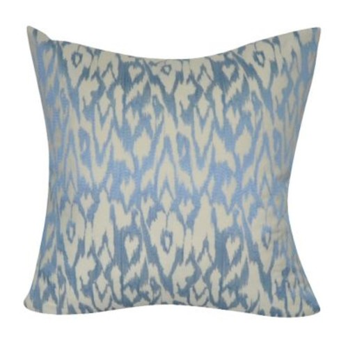 Loom and Mill Edgy Ikat Throw Pillow