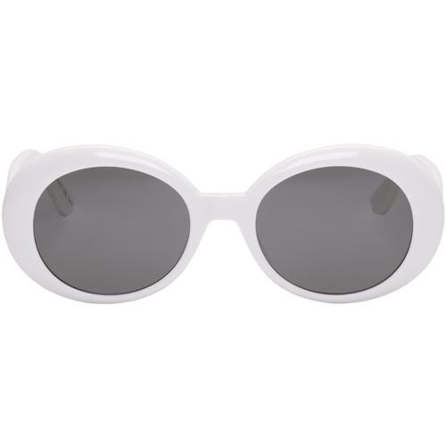 SAINT LAURENT Ivory Sl 98 California Sunglasses
