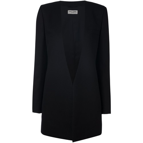 SAINT LAURENT Deep V-Neck Blazer