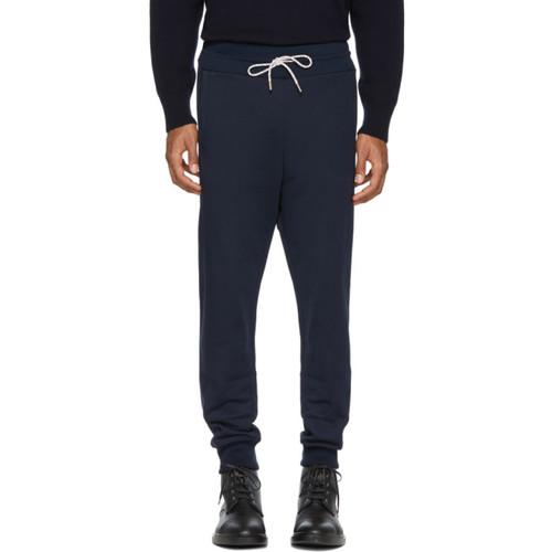 MONCLER GAMME BLEU Navy Chevron Logo Lounge Pants