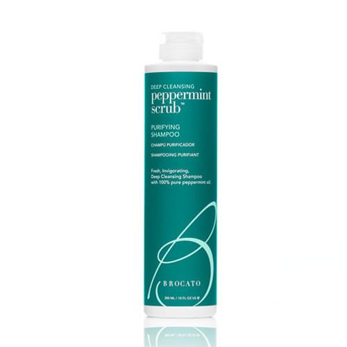 brocato Peppermint Scrub Purifying Shampoo - 10 Oz.