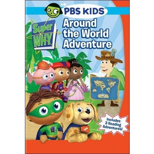 Super Why!: Around the World Adventure [DVD]