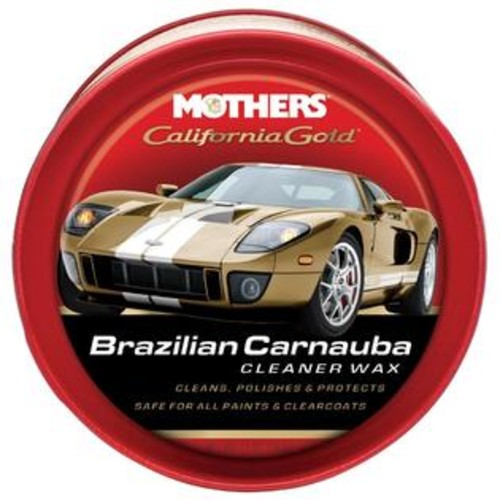Mothers 5500 California Gold Carnuba Wax Paste. 12 oz.