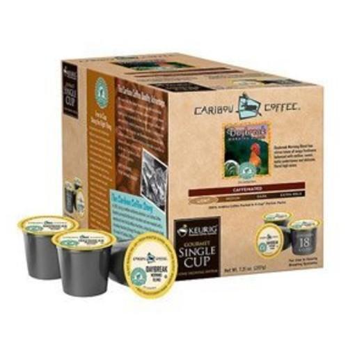 Caribou Daybreak Morning Blend Coffee Keurig K-Cups, 18 Count [18 Count]