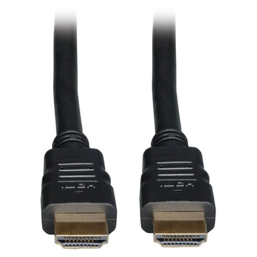 Tripp Lite High Speed HDMI Cable with Ethernet Ultra HD 4K x 2K Digital Video with Audio InWall CL2-Rated (M/M) 10ft