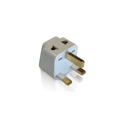 Universal Grounded Travel Plug Adapter For Switzerland (Type J)