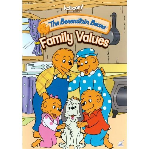 The Berenstain Bears: Family Values [DVD]