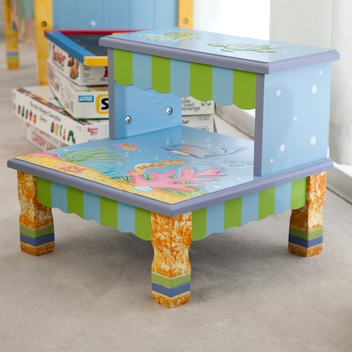 Teamson Fantasy Fields Under the Sea Step Stool