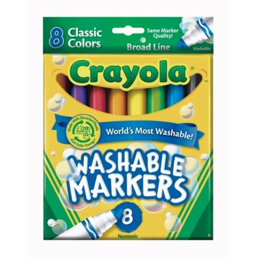 Crayola Classic Colors Washable Markers (58-7808)