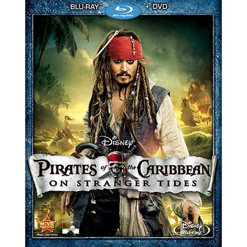 Pirates of the Caribbean: On Stranger Tides (Blu-ray + DVD)