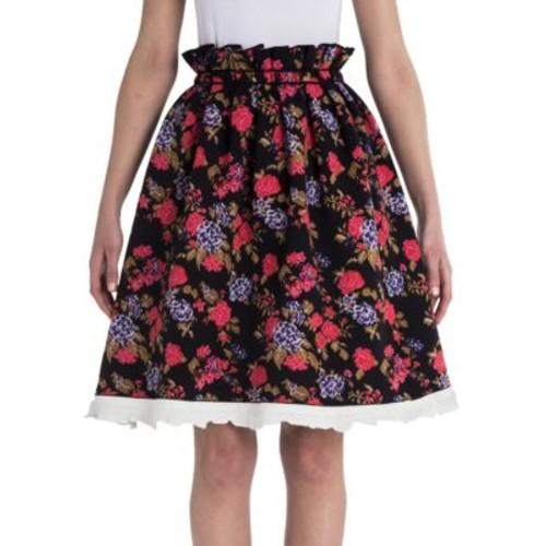 MSGM Floral Printed Skirt