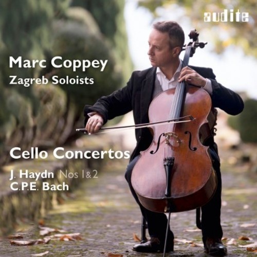 Marc Coppey - Haydn: Cello Concertos Nos. 1 & 2; C.P.E. Bach: Cello Concerto (CD)