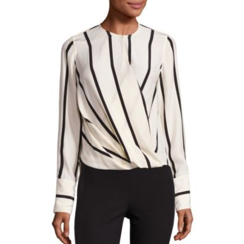 RAG & BONE Max Striped Silk Blouse