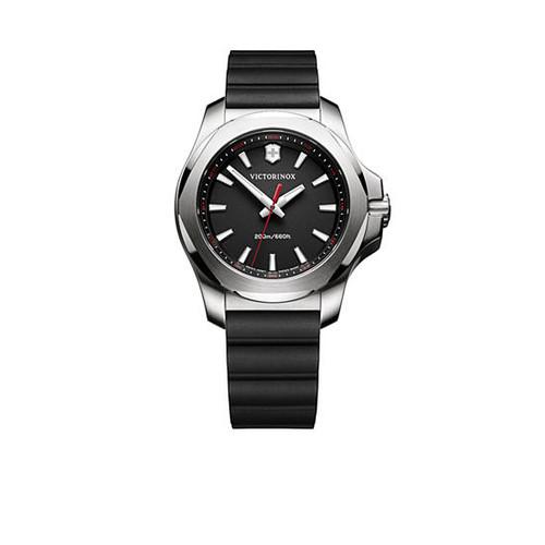 Victorinox Swiss Army, Inc. Women's I.N.O.X. Black Rubber Watch