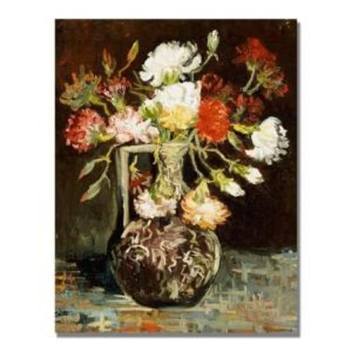 Trademark Fine Art 24 in. x 32 in. Bouquet of Flowers II Canvas Art
