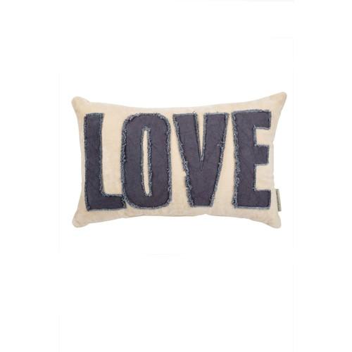 Primitives by Kathy Velvet Love Pillow