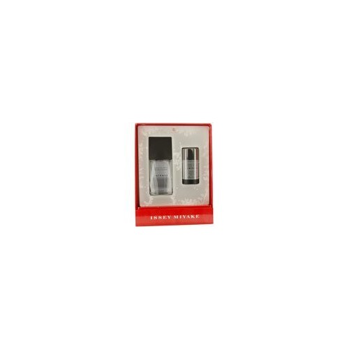 Issey Miyake L'eau D'issey Pour Homme Intense by Issey Miyake for Men 2 Piece Set 2.5 oz Eau De Toilette EDT Spray + 2.6 oz Alcohol Free Deodorant Stick
