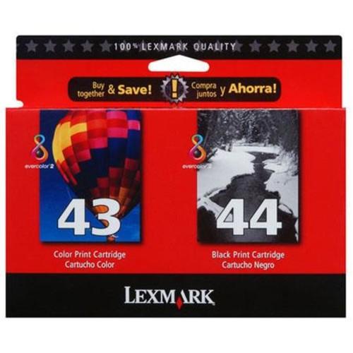 Lexmark 18Y0372 Twin-Pack #44XL Black Ink Cartridge 18Y0372