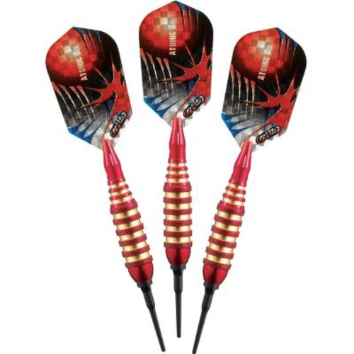 GLD Products Viper Spinning Bee Soft Tip Dart Set; Red
