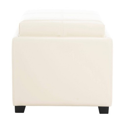Storage Ottomans Cream - Safavieh