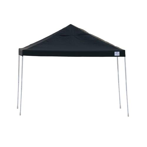 ShelterLogic 22541 12x12 ST Pop-up Canopy, Black Cover, Black Roller Bag
