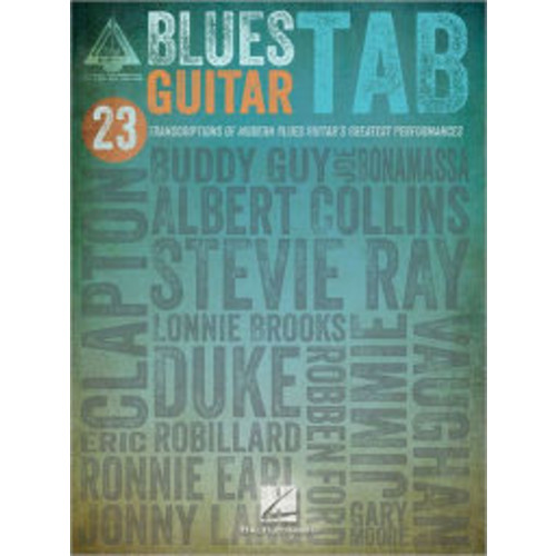 Blues Guitar Tab
