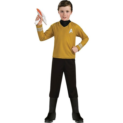 Star Trek Deluxe Captain Kirk Costume Child Medium