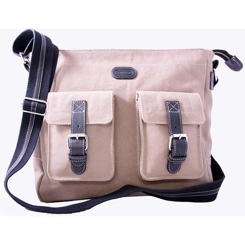 Leatherbay Downtown Messenger Bag - n/a