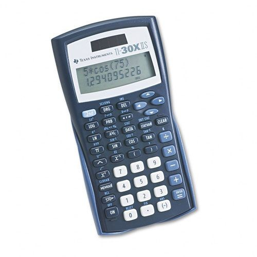 Texas Instruments TEXTI30XIIS TI-30X IIS Scientific Calculator, 10-Digit LCD