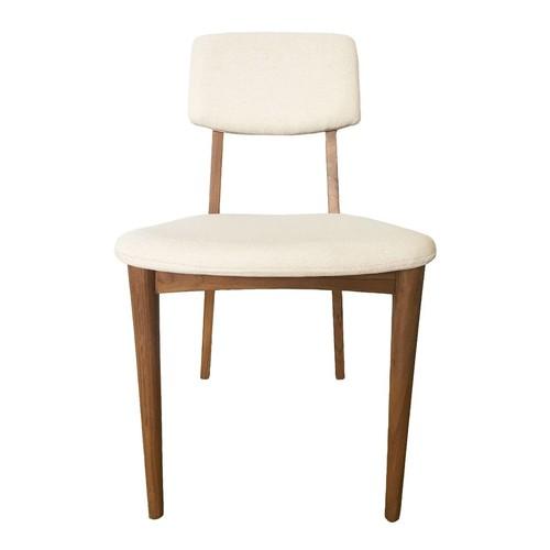 Dane Side Chair Natural Teak design by Selamat