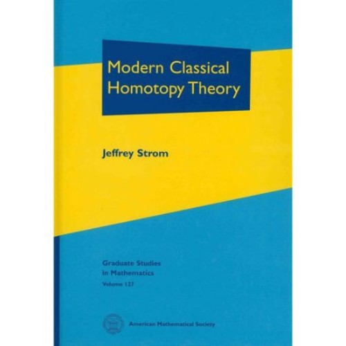 Modern Classical Homotopy Theory