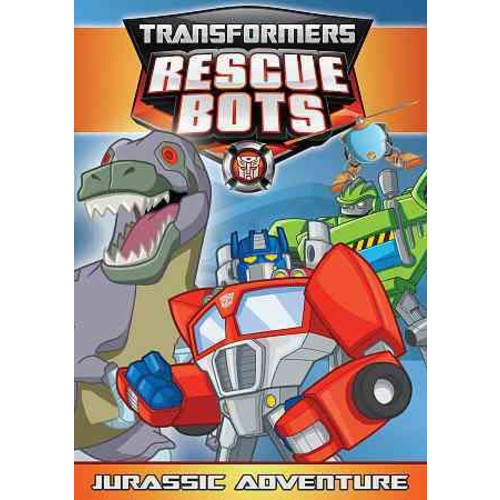 Transformers Rescue Bots: Jurassic Adventures (DVD) [Transformers Rescue Bots: Jurassic Adventures DVD]