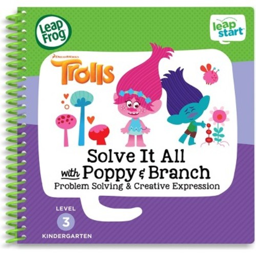 LeapFrog LeapStart Trolls Creativity Activity Book