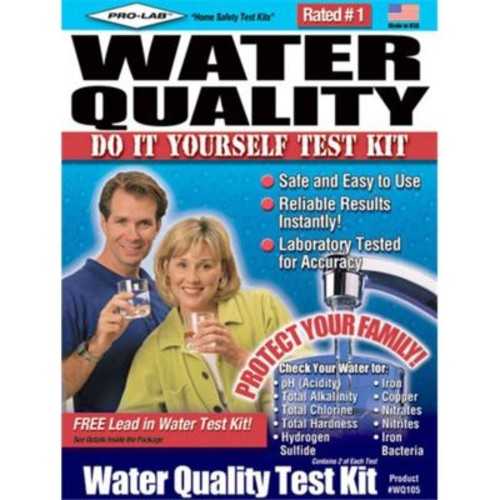 Pro-Lab Incorporated Do-It-Yourself Water Quality Test Kit (Jnsn23958)
