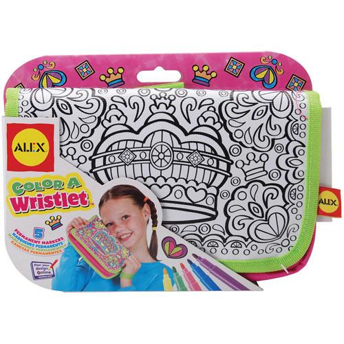 ALEX Toys Color a Bag & Accessories Color A Princess Wristlet