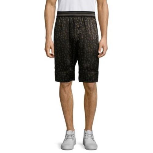 3.1 PHILLIP LIM Reversible Leopard Souvenir Shorts