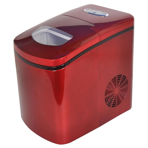 Avanti 26 lb. Freestanding Ice Maker in Red