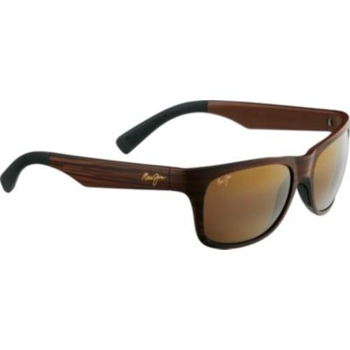 Maui Jim Kahi Polarized Sunglasses [Lens Color : Neutral Gray; Lens Material : SuperThin Glass; Frame Color : Matte Black Soft Touch; Fits Size : M; Frame Material : Nylon]