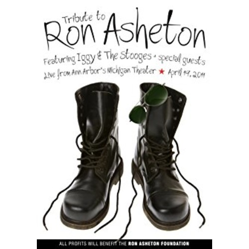 Asheton, Ron - Tribute Concert With Iggy & The Stooges And Friends: Ron Asheton, Iggy Pop, Henry Rollins, Jim Jarmusch, n/a: Movies & TV