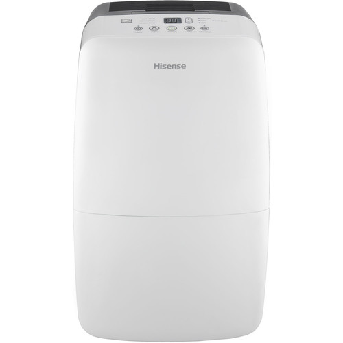 Hisense 50 Pint 2-Speed Dehumidifier with Built-In 1200W Heater - DH-50KD1SDLE
