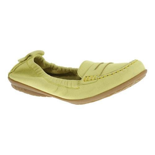 Women's Hush Puppies Katherine Ceil Light Yellow Nubuck [option : US Women's 10 N (Narrow)]