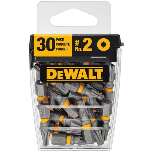 DEWALT MAX IMPACT 1 in. Torx Steel 25 Screwdriving Bit (30-Pieces)