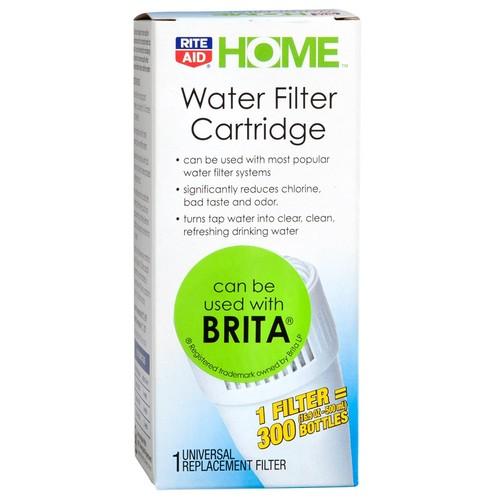 Rite Aid Water Filter Cartridge, 1 filter