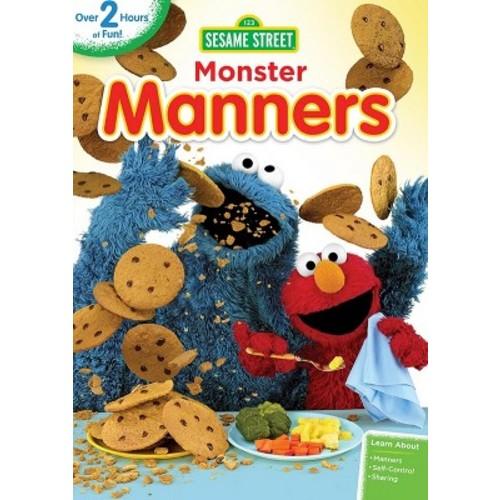 Sesame Street: Monster Manners (dvd_video)