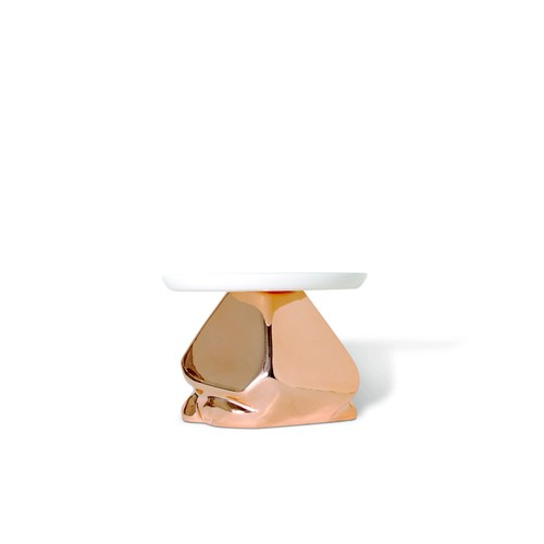Candy Rock Cupcake Plate in Copper design by imm Living