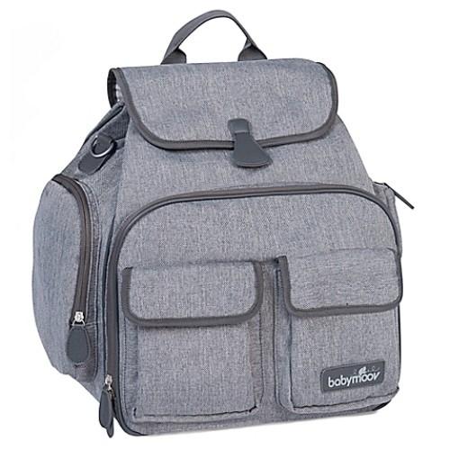 babymoov Glober Bag in Heather Grey